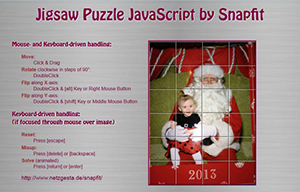 Jigsaw Puzzle JavaScript by Snapfit