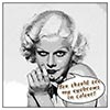 Digital Art Titled Jean Harlow In The Funny Papers