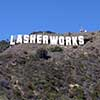 Digital Art Titled Lasher Works In Hollywood