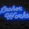 Digital Art Titled Lasher Works In Neon