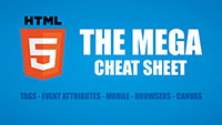 HTML5 Mega Cheat Sheet