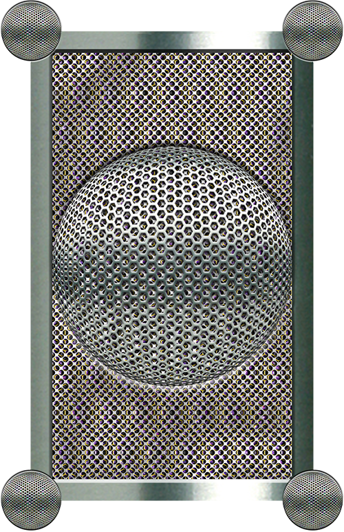 Layered Perforated Steel Mesh design