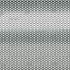 Digital Art Titled Perforated Steel Honeycomb Background