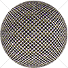 Digital Art Titled Perforated Steel Layered 1 Sphere